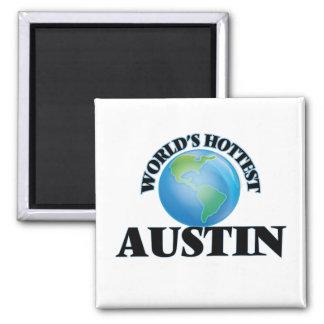 World's Hottest Austin Fridge Magnets