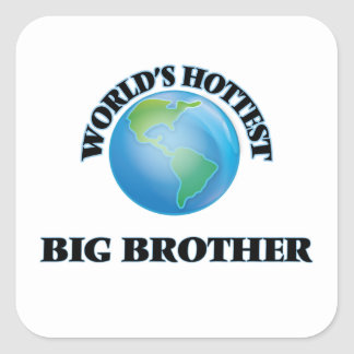World's Hottest Big Brother Square Sticker