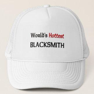 Worlds Hottest Blacksmith Trucker Hat