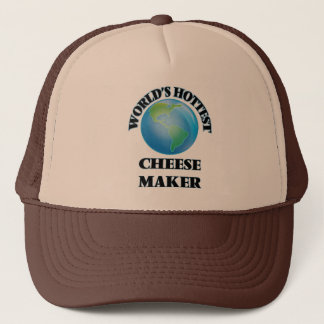 World's Hottest Cheese Maker Trucker Hat