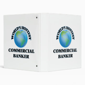 World's Hottest Commercial Banker Vinyl Binder