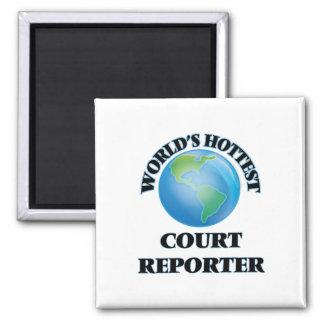 World's Hottest Court Reporter Fridge Magnets