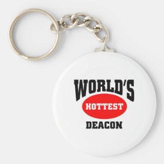 World's Hottest Deacon Keychain