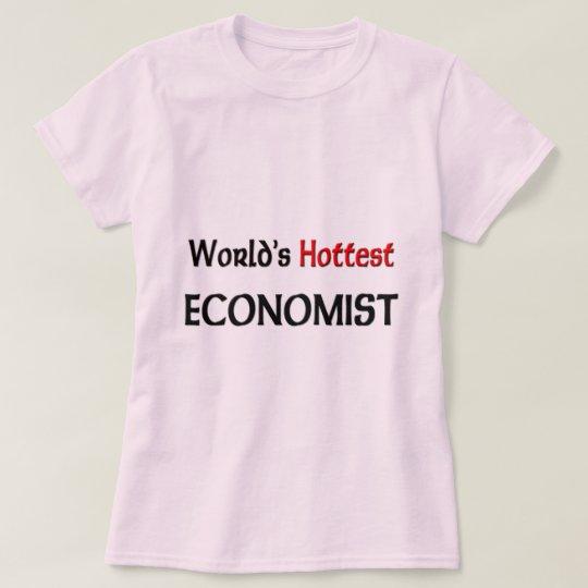 Worlds Hottest Economist T-Shirt
