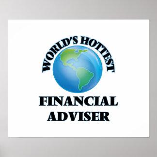 World's Hottest Financial Adviser Print