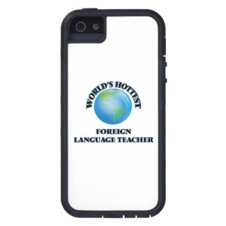 World's Hottest Foreign Language Teacher iPhone 5 Cases