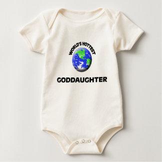 World's Hottest Goddaughter Baby Bodysuit