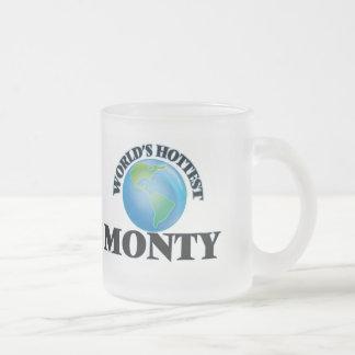 World's Hottest Monty Coffee Mugs