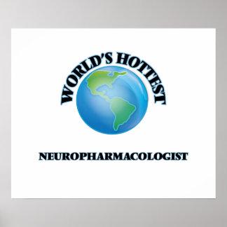 World's Hottest Neuropharmacologist Print