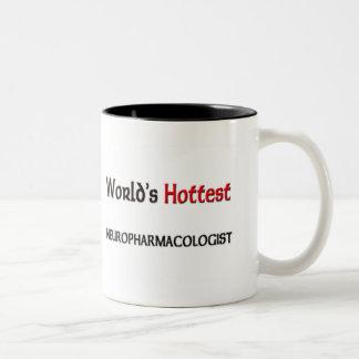 Worlds Hottest Neuropharmacologist Two-Tone Coffee Mug