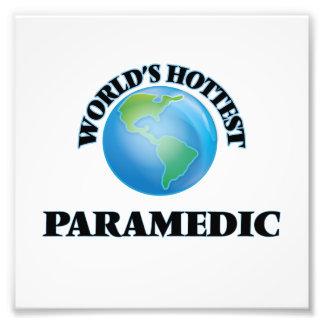 World's Hottest Paramedic Photographic Print