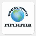 World's Hottest Pipefitter Sticker