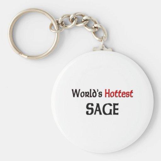 Worlds Hottest Sage Keychains