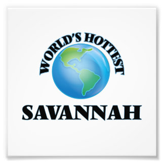 World's Hottest Savannah Photo Print