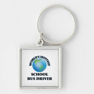 World's Hottest School Bus Driver Keychain