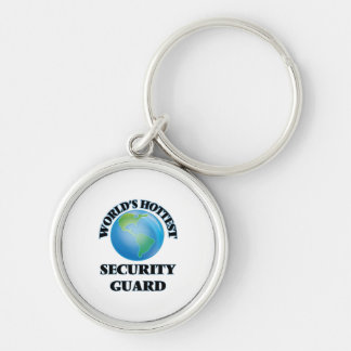 World's Hottest Security Guard Key Chain