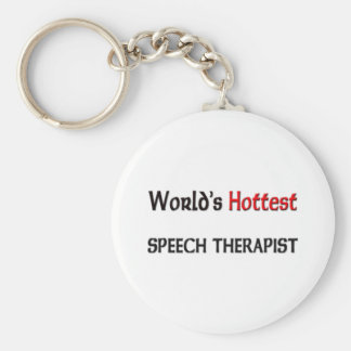 Worlds Hottest Speech Therapist Keychain