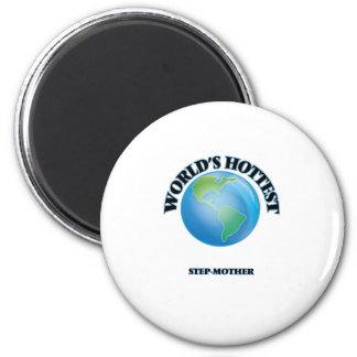 World's Hottest Step-Mother Refrigerator Magnet