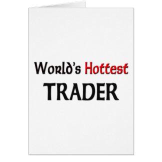 World's Hottest Trader Card