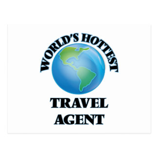 World's Hottest Travel Agent Post Card