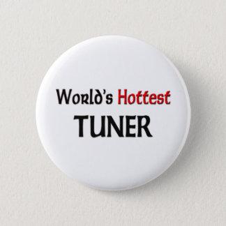 World's Hottest Tuner 2 Inch Round Button