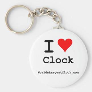 World's Largest Clock Key Chain