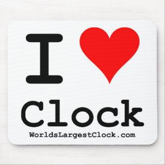 World's Largest Clock Mousepad