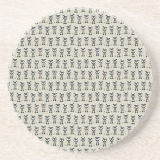 Worlds Largest Knitting Sheep Competition Coaster