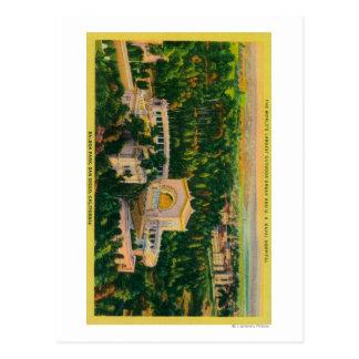 World's Largest Outdoor Organ Postcard