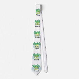 World's meilleur Friend Cravates Personnalisables