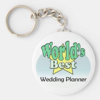 World's meilleur Wedding planificateur Porte-clef