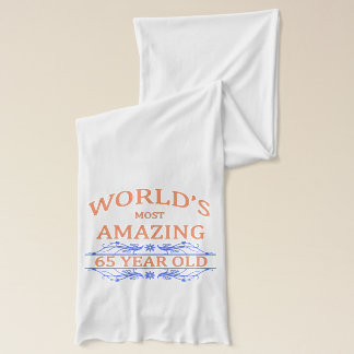 World's Most Amazing 65 Year Old Scarf