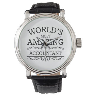 World's most amazing Accountant Watch