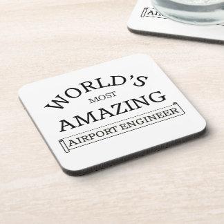 World's most amazing Airport Engineer Beverage Coaster