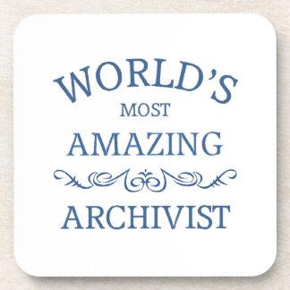 World's most amazing Archivist Drink Coasters
