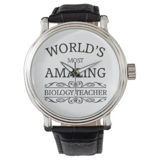 World's most amazing biology teacher wristwatch