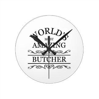 World's most amazing Butcher Round Clock