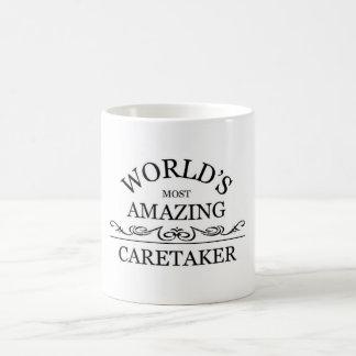 World's most amazing caretaker coffee mug