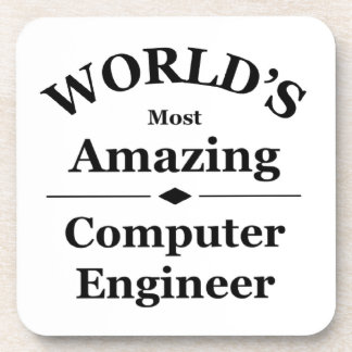 World's most amazing Computer Engineer Drink Coasters