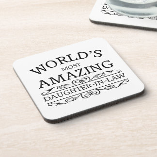 World's most amazing  daughter in law coaster