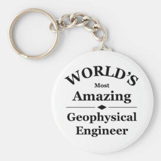 World's most amazing Geophysical Engineer Basic Round Button Keychain