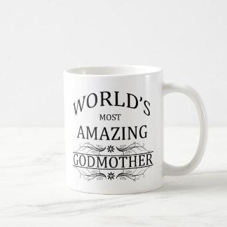 World's Most Amazing Godmother Basic White Mug