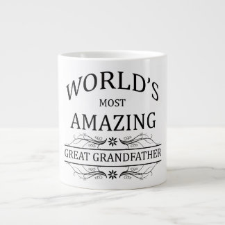 World's Most Amazing Great Grandfather Large Coffee Mug