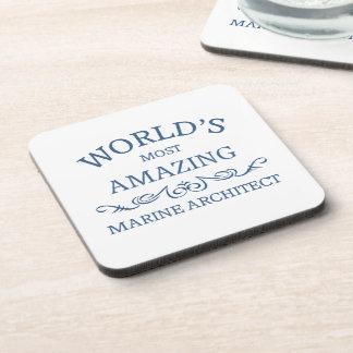 World's most amazing Marine Architect Beverage Coasters