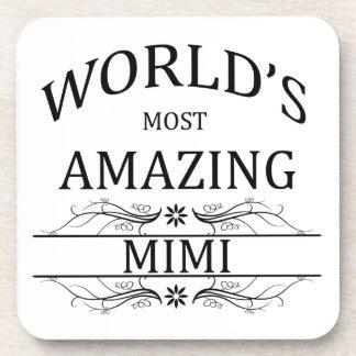 World's Most Amazing Mimi Beverage Coaster