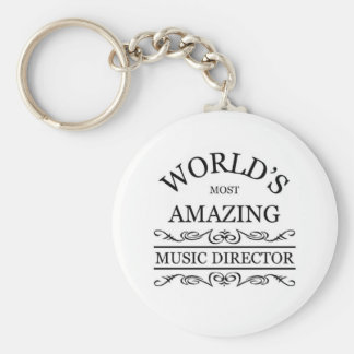 World's most amazing Music director Keychain