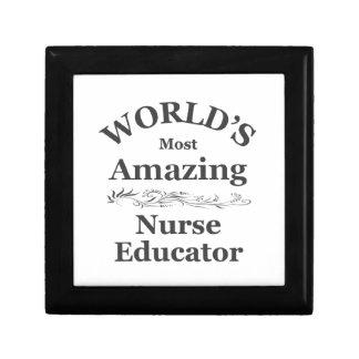 World's most amazing Nurse Educator Gift Box