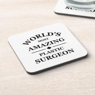 World's most amazing Plastic Surgeon Coasters