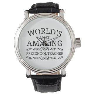 World's most amazing pre-school principal wrist watches