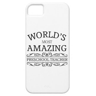 World's most amazing preschool teacher iPhone 5 cover
